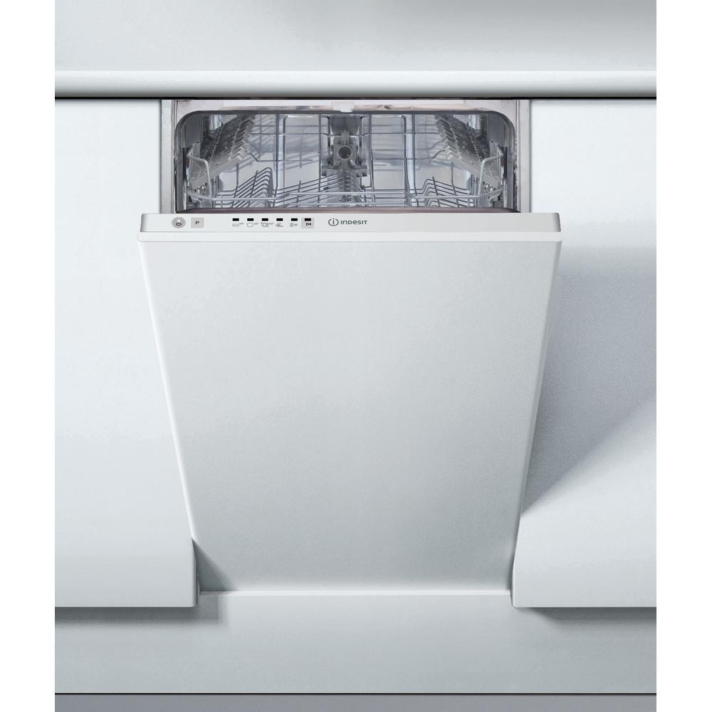 Indesit Trauku mazgājamā mašīna Iebūvējams DSIE 2B19 Full-integrated A+ Lifestyle frontal