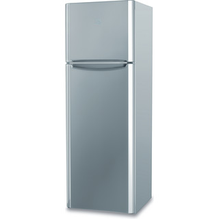Indesit Combinazione Frigorifero/Congelatore A libera installazione TIAA 12 V SI 1 Argento 2 porte Perspective