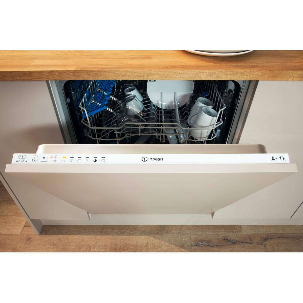 Indesit Lavastoviglie Da incasso DPG 16B1 A EU Semi-integrato A Lifestyle control panel