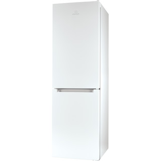Indesit Kombinerat kylskåp/frys Fristående LI8 SN1E W White 2 doors Perspective