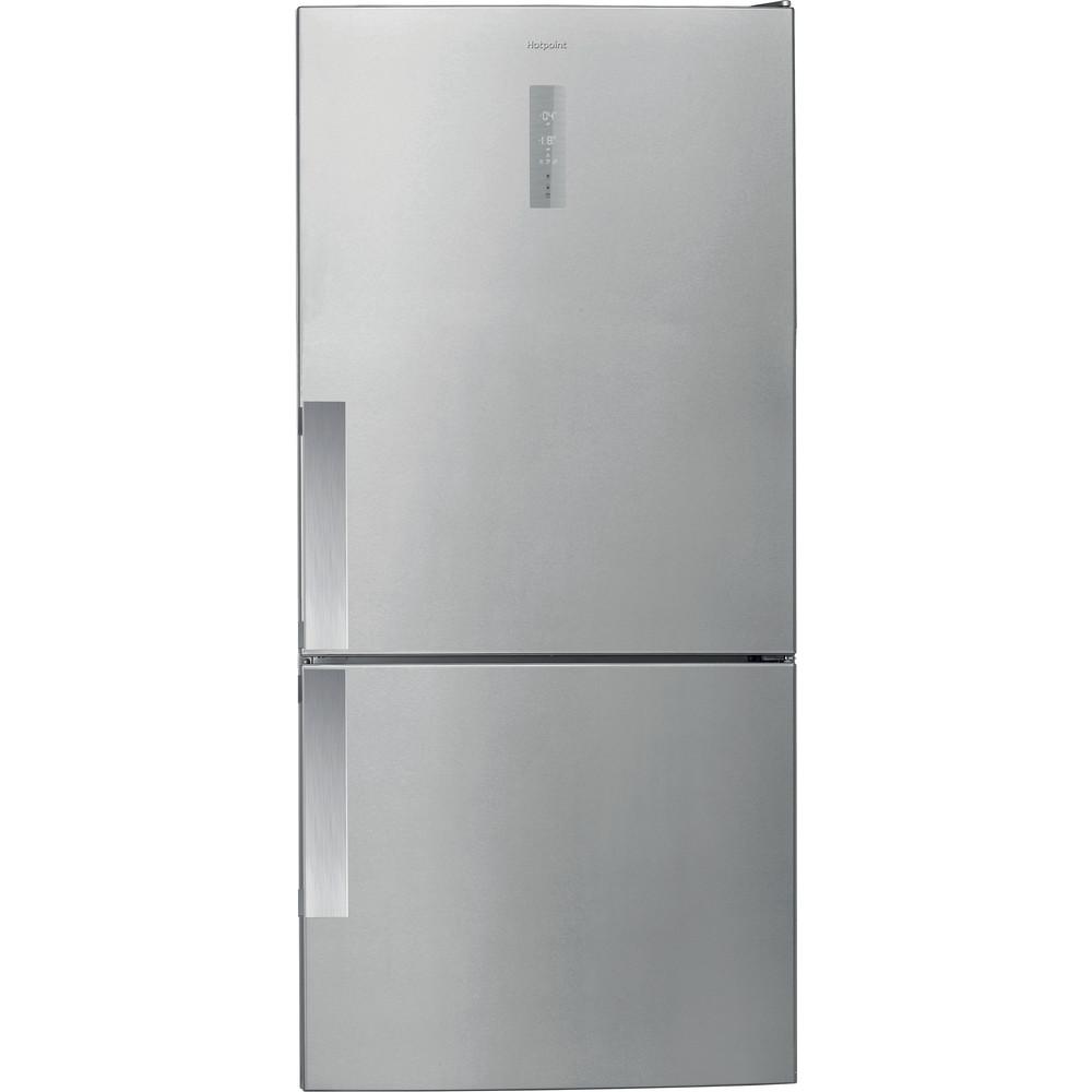 Hotpoint Fridge Freezer Free-standing H84BE 72 XO3 UK 2 Inox 2 doors Frontal