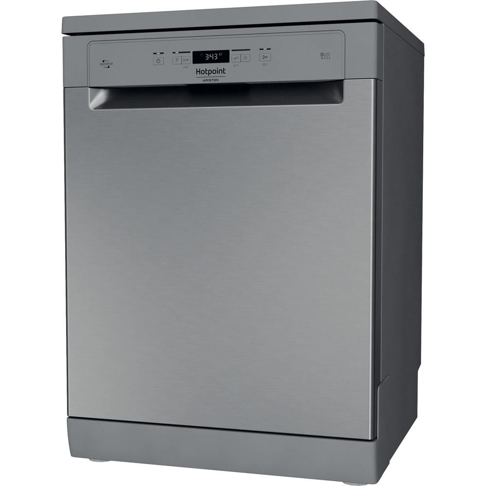 Hotpoint_Ariston Máquina de lavar loiça Livre Instalação HFC 3C41 CW X Livre Instalação C Perspective
