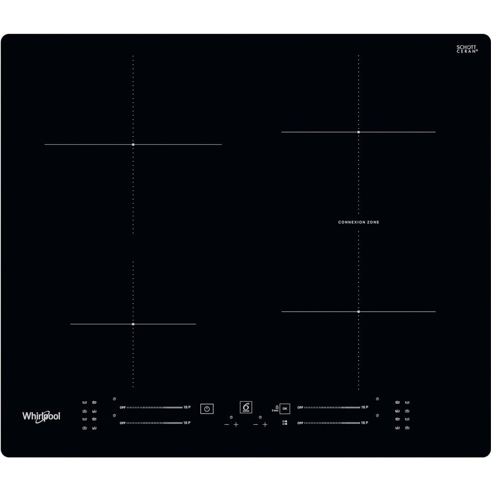 Whirlpool WB S2560 NE Inductie kookplaat - Inbouw - 4 kookzones