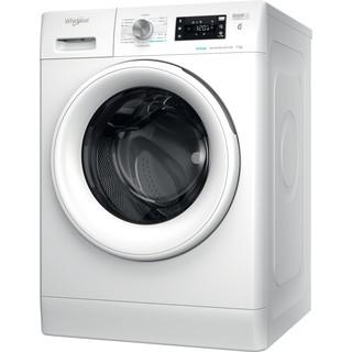 Whirlpool Perilica za rublje Samostojeći FFB 7238 WV EE Bijela Prednje punjenje A+++ Perspective