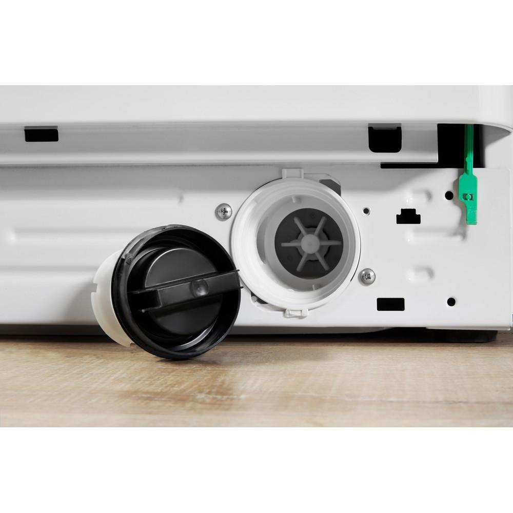 Indesit Pračka se sušičkou Volně stojící XWDA 751480X WSSS EU Bílá Front loader Filter