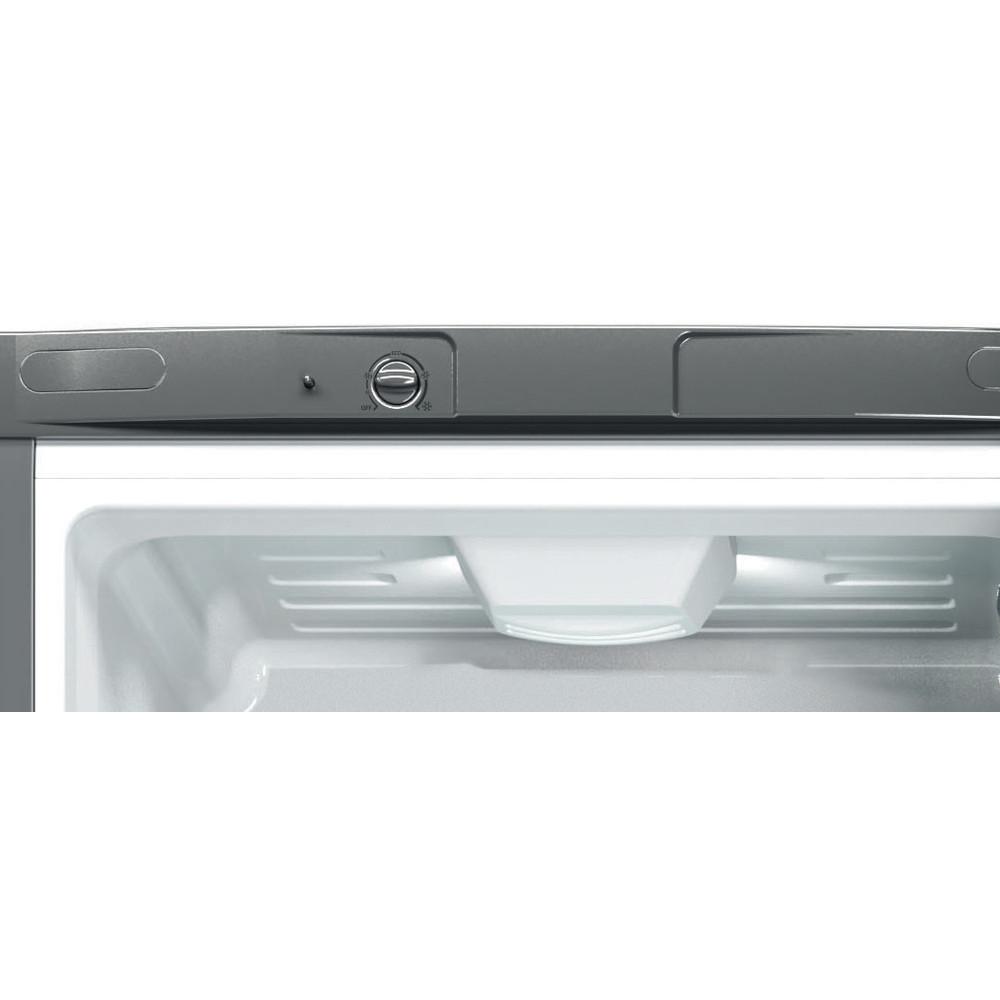 Indesit Холодильник с морозильной камерой Отдельно стоящий LI8 FF2 X Inox 2 doors Control panel
