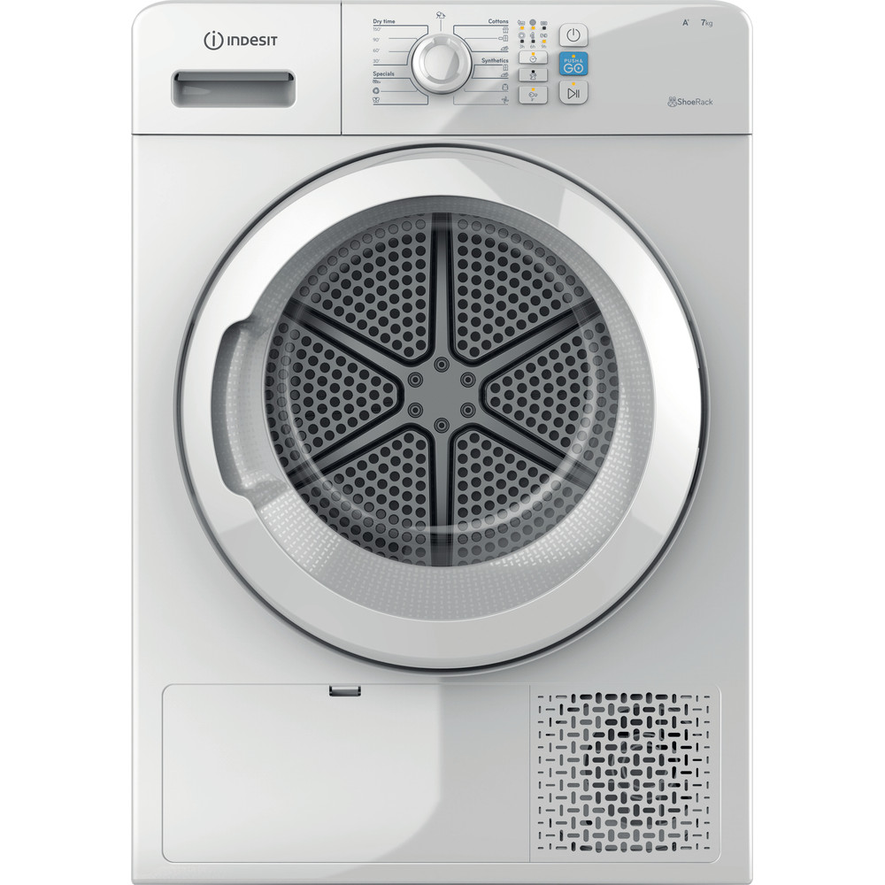 Indesit Mašina za sušenje veša YT M08 71 R EU Bijela Frontal