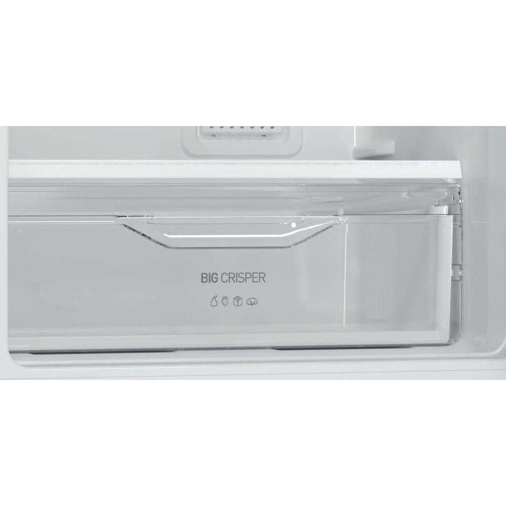 Indesit Холодильник с морозильной камерой Отдельностоящий DFM 4180 S Серебристый 2 doors Drawer