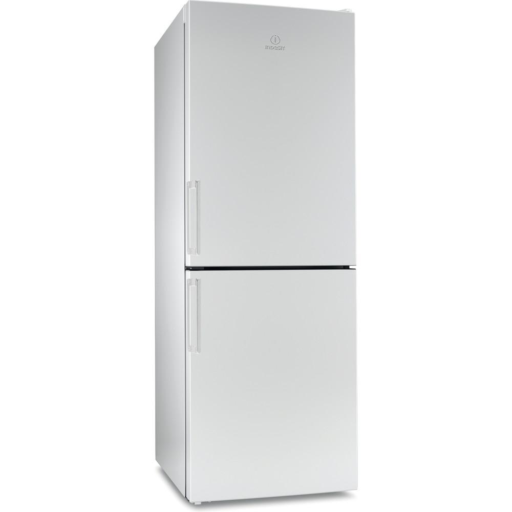 Indesit Холодильник с морозильной камерой Отдельностоящий EF 16 Белый 2 doors Perspective