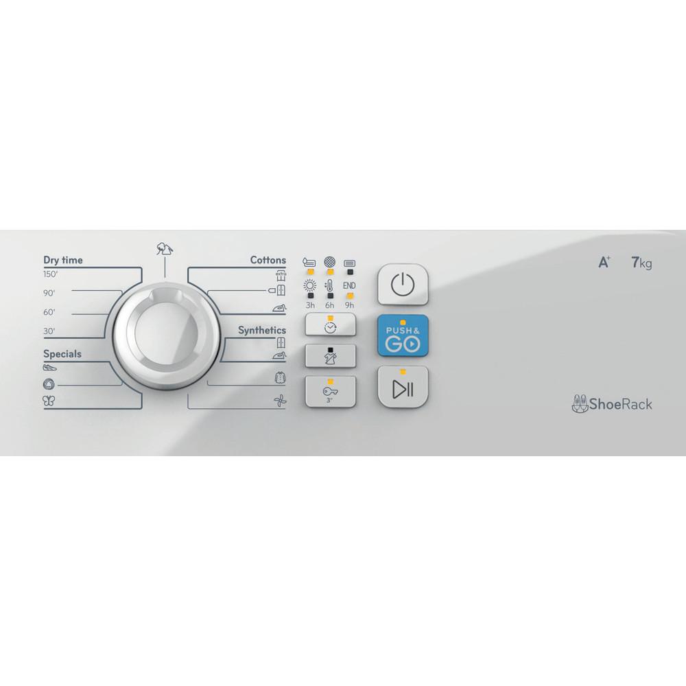 Indesit Secador YT M08 71 R EU Branco Control panel
