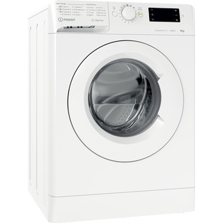 Indesit Washing machine Free-standing MTWE 91483 W UK White Front loader D Perspective