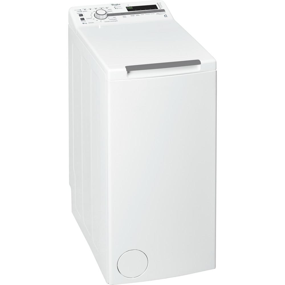 Lavadora carga superior libre instalación Whirlpool 6 kg A+++ TDLR 60210 – 6th Sense