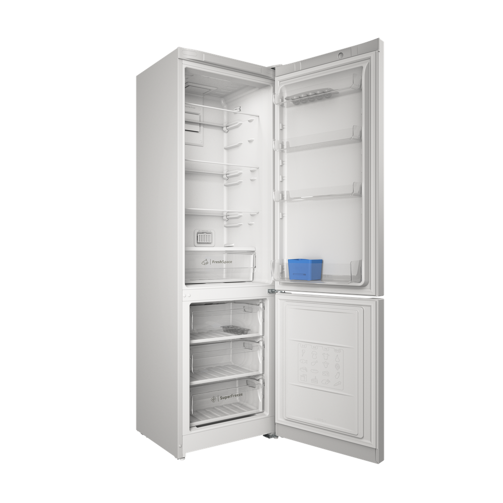 Indesit Холодильник с морозильной камерой Отдельностоящий ITS 5200 W Белый 2 doors Perspective open