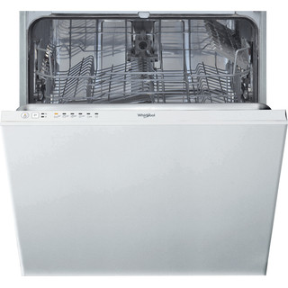 Whirlpool integrated dishwasher: white color, full size - WIE 2B19 UK