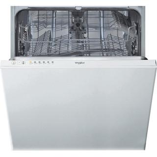 Whirlpool integrert oppvaskmaskin: farge hvit, 60 cm - WIE 2B19