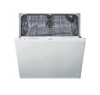 Integreret Whirlpool-opvaskemaskine: hvid farve, fuld størrelse - WIE 2B19