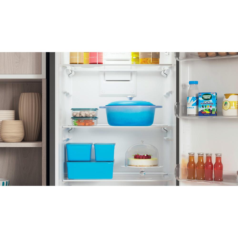 Indesit Холодильник с морозильной камерой Отдельностоящий ITR 4200 S Серебристый 2 doors Lifestyle detail