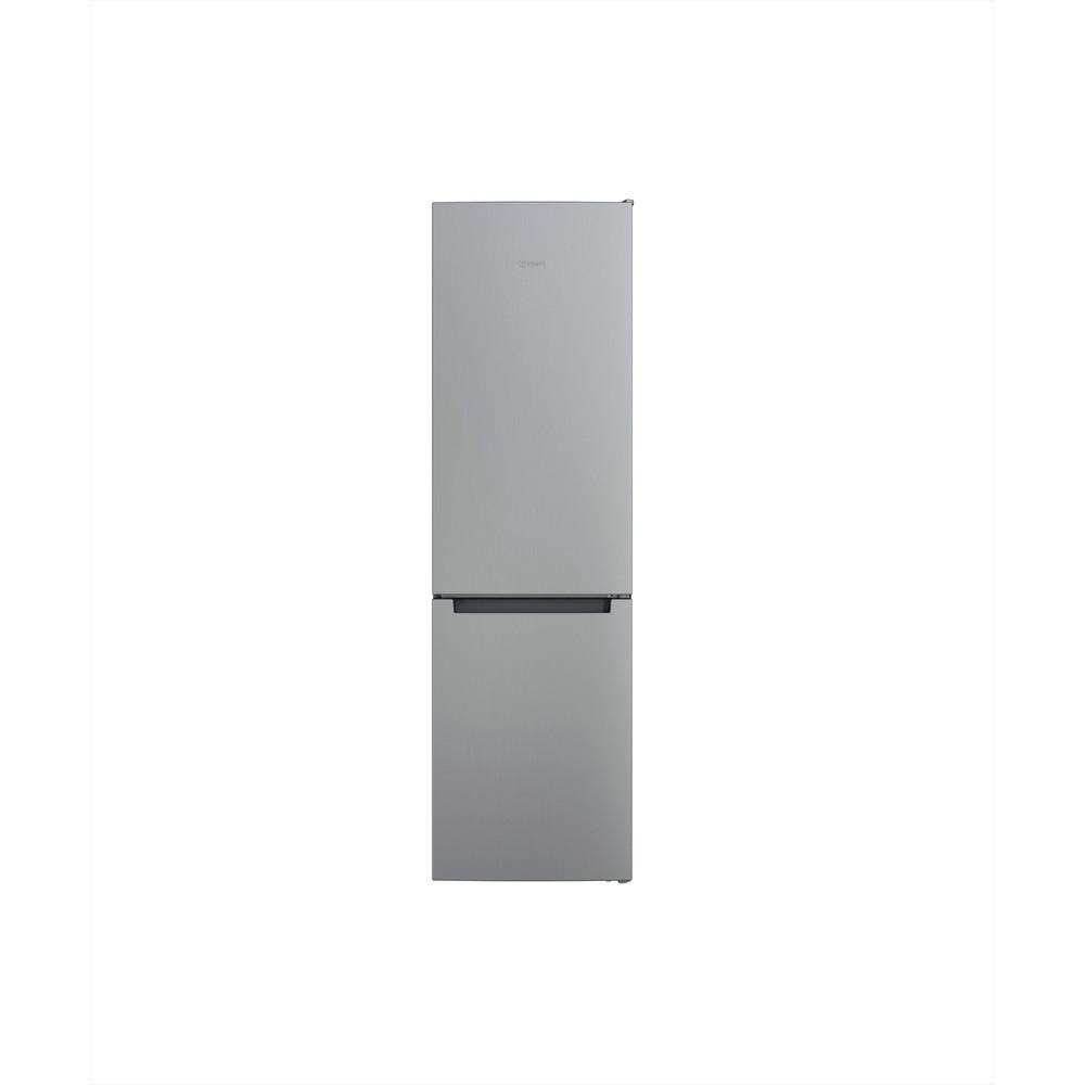 Indesit Combiné réfrigérateur congélateur Pose-libre INFC9 TI22X Inox 2 portes Frontal