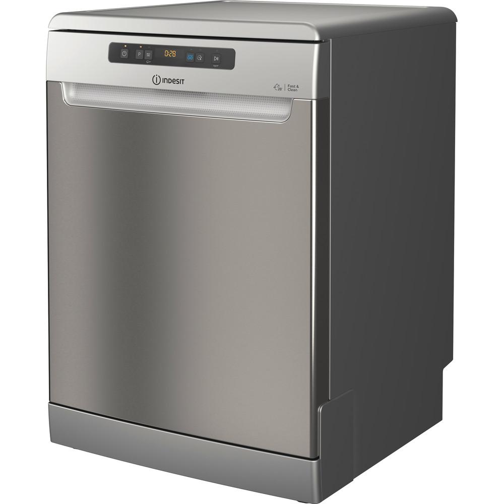Indesit Lave-vaisselle Pose-libre DFO 3T133 A F X Pose-libre D Perspective