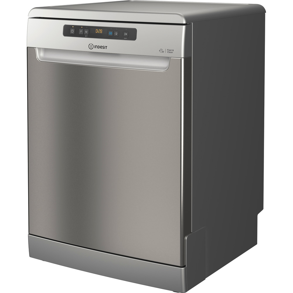 Indesit Máquina de lavar loiça Livre Instalação DFO 3T133 A F X Livre Instalação D Perspective
