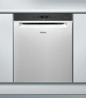 Whirlpool-opvaskemaskine: inox-farve, fuld størrelse - WUC 3C24 P X