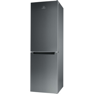 Indesit Холодильник с морозильной камерой Отдельно стоящий XIT8 T1E X Оптик Inox 2 doors Perspective