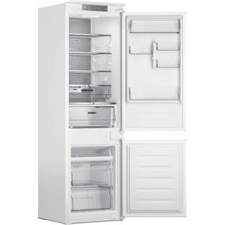Whirlpool Kombinētais ledusskapis/saldētava Iebūvējams WHC18 T341 Balta 2 doors Perspective open