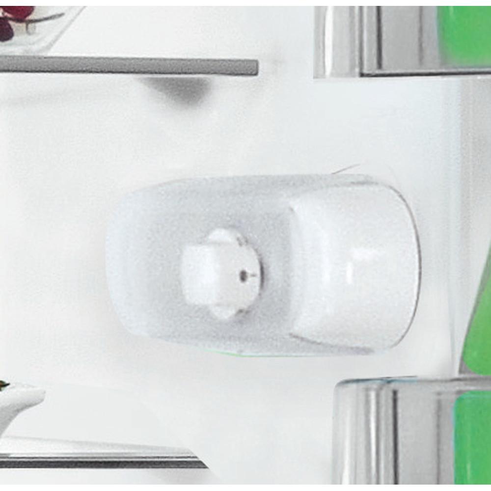 Indesit Kombinovaná chladnička s mrazničkou Volně stojící LR6 S2 X Nerez 2 doors Control panel