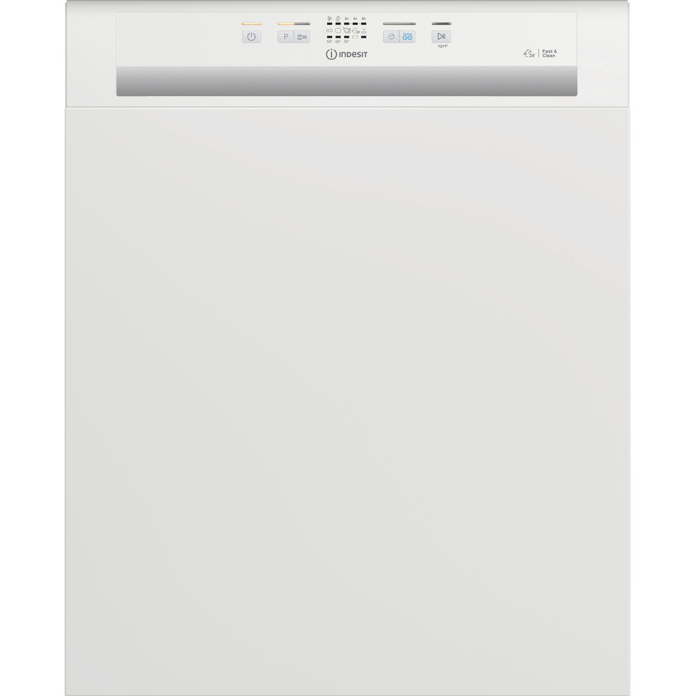 Indesit Dishwasher Built-in DBE 2B19 UK Half-integrated F Frontal