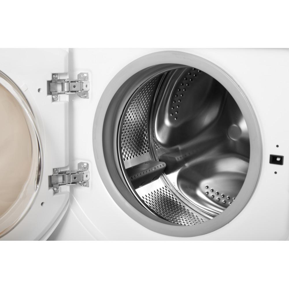 Indesit Стиральная машина Встраиваемый BI WMIL 71252 EU Белый Фронтальная загрузка A Drum