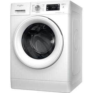 Whirlpool vrijstaande wasmachine: 7,0 kg - FFBBE 7638 W F