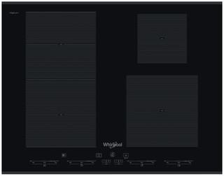 Placa de indução e vitrocerâmica da Whirlpool - SMC 654 F/BT/IXL