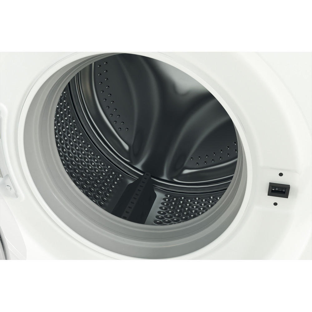 Indesit Перална машина Свободностоящи MTWE 71252 W EE Бял Предно зареждане E Drum