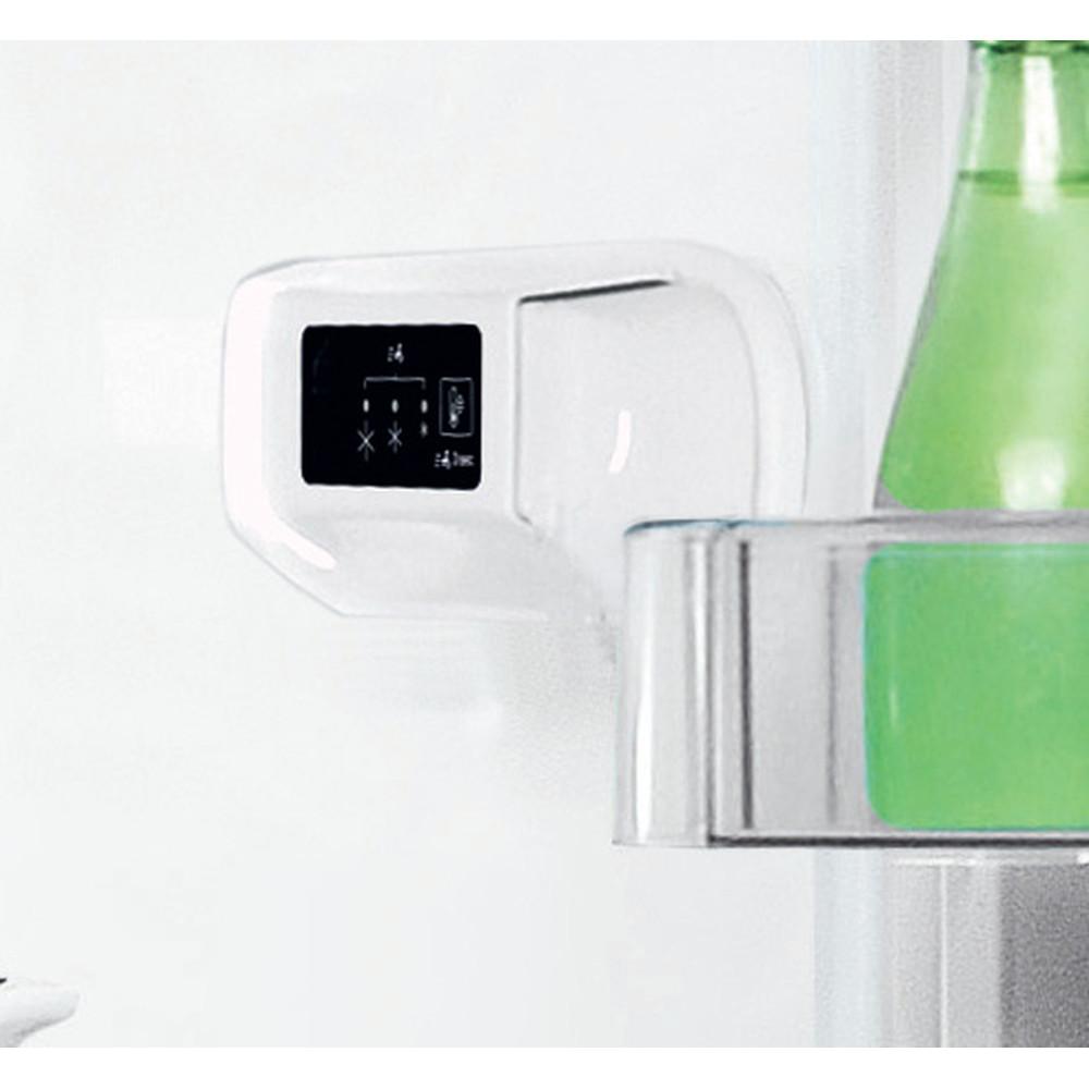 Indesit Kombinētais ledusskapis/saldētava Brīvi stāvošs LI8 S2E W Global white 2 doors Lifestyle control panel