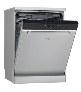 Máquina de lavar loiça da Whirlpool: cor inox, tamanho grande - WFC 3C24 PF X