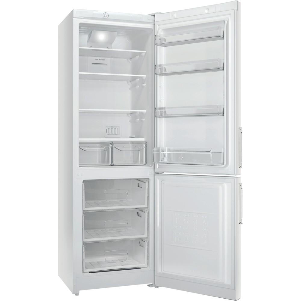 Indesit Холодильник с морозильной камерой Отдельностоящий EF 18 Белый 2 doors Perspective open