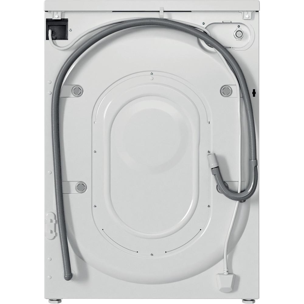 Indesit Pračka Volně stojící EWUD 41051 W EU N Bílá Front loader F Back / Lateral