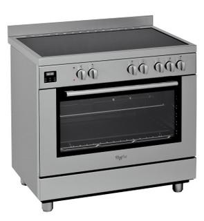 موقد ويرلبول الكهربائي القائم: 90 سم - ACM 9414 V/IX