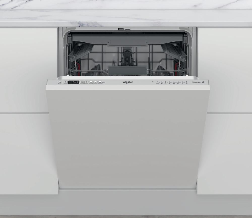 Whirlpool Indaplovė Įmontuojamas WIC 3C33 PFE Full-integrated D Frontal
