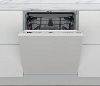 Съдомиялна за вграждане Whirlpool: сребрист цвят, пълен размер - WIC 3C33 PFE