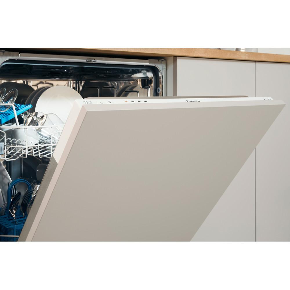 Indesit Съдомиялна машина Вграден DIE 2B19 A Изцяло вграден F Lifestyle control panel