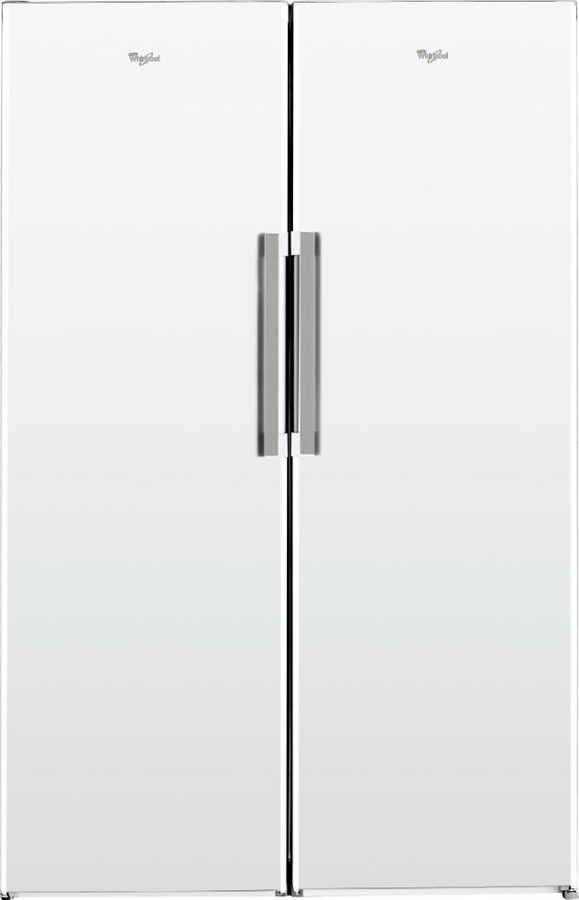 Whirlpool Jääkaappi Vapaasti sijoitettava SW8 1Q WH 1 Valkoinen Frontal