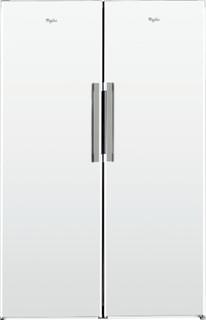 Fritstående Whirlpool-køleskab: hvid farve - SW8 1Q WH 1