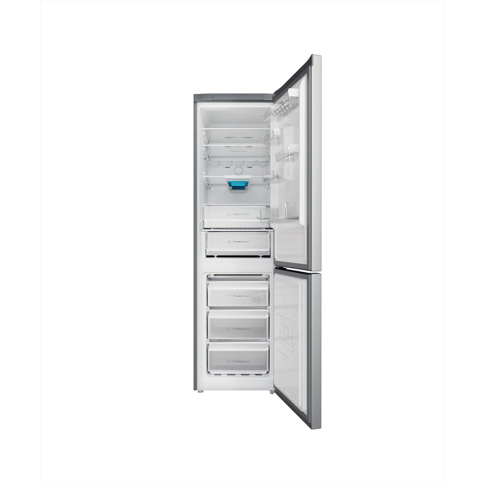 Indsit Racitor-congelator combinat Independent INFC9 TO32X Inox 2 doors Frontal open