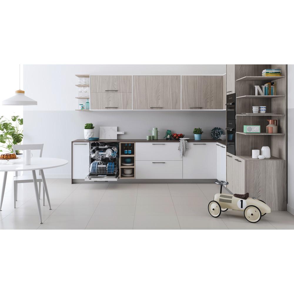 Indesit Umývačka riadu Vstavané DIO 3C24 AC E Full-integrated E Lifestyle frontal open