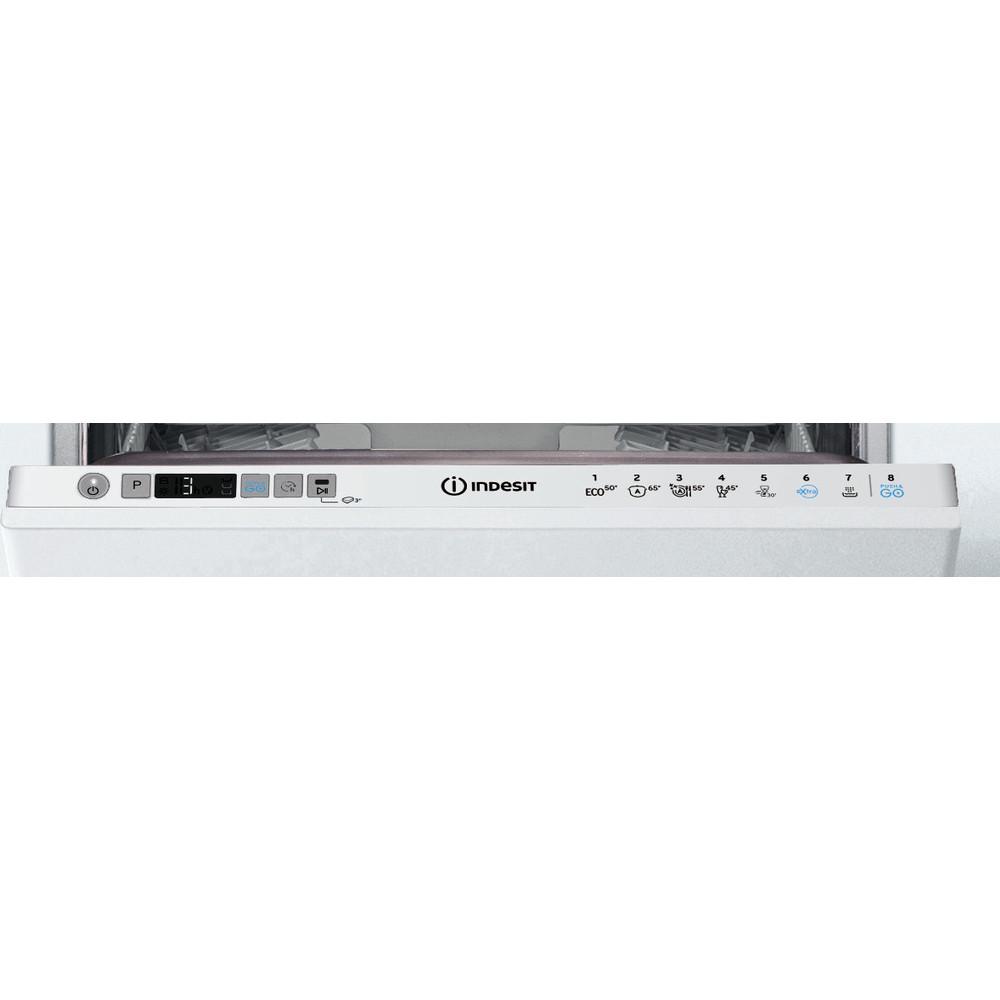 Indesit Zmywarka Do zabudowy DSIC 3T117 C Zintegrowane F Control panel
