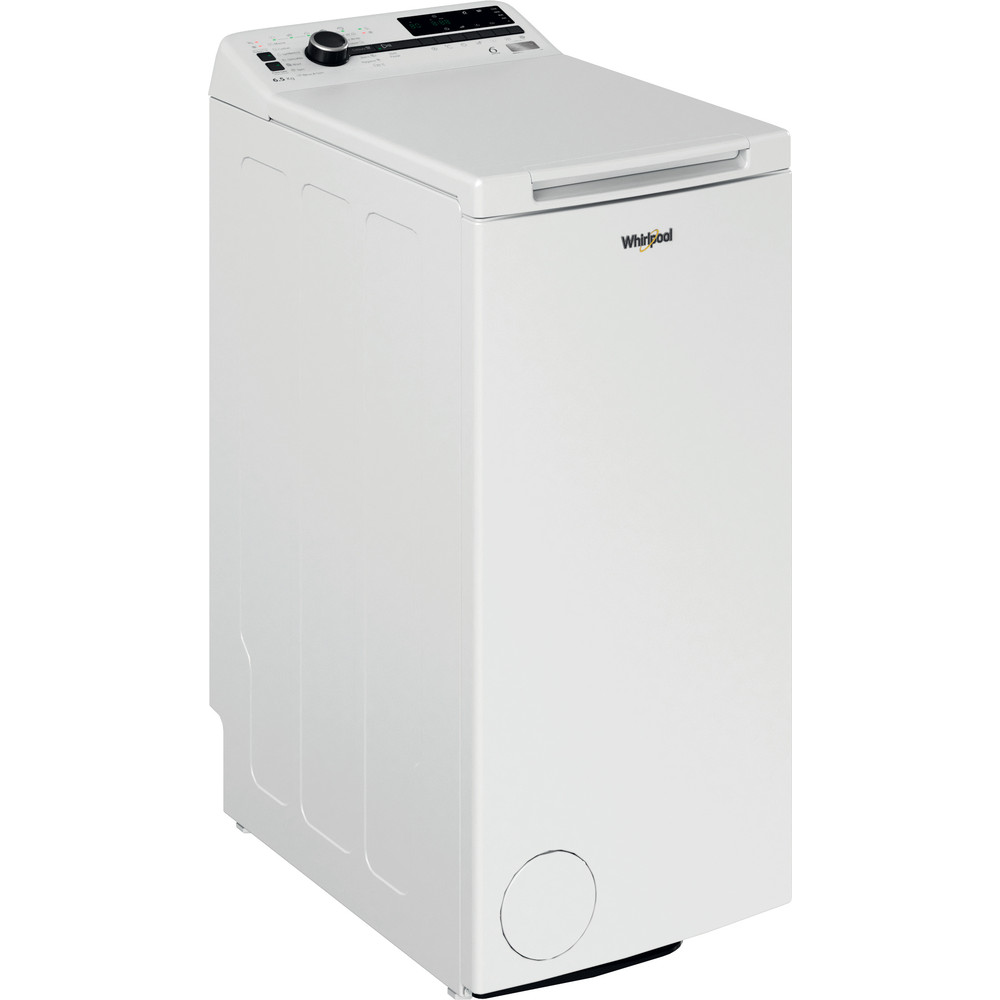 Whirlpool toppmatad tvättmaskin: 6.5 kg - TDLRB 65242BS EU/N