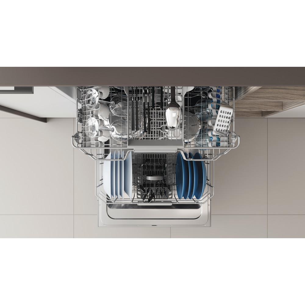 Indesit Lave-vaisselle Encastrable DIC 3C24 AC S Tout intégrable E Rack