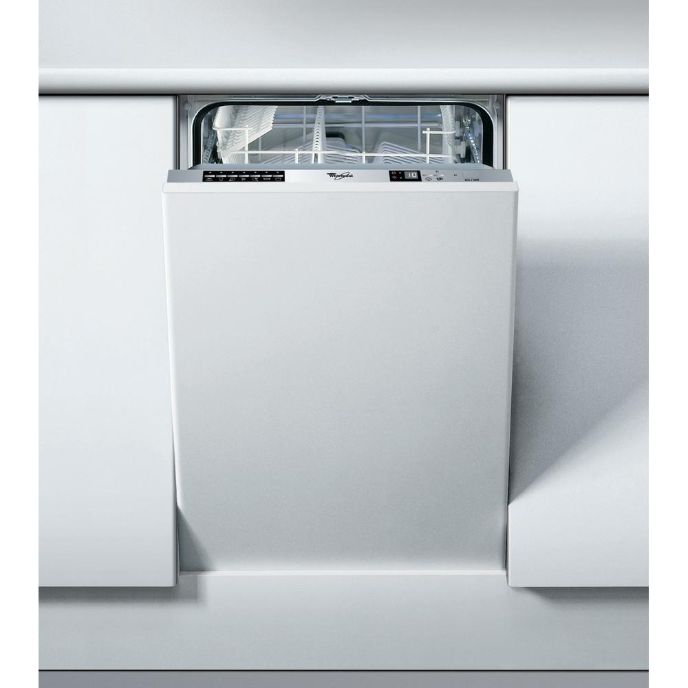 Lavavajillas integrable Whirlpool: color silver, 45 cm - ADG 175