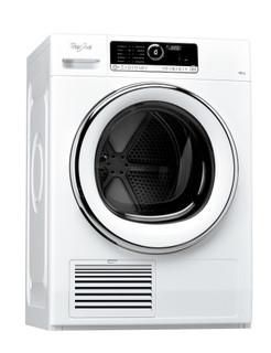 Whirlpool condenser tumble dryer: freestanding, 10kg - DSCX 10123